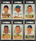 Baseball Collectibles:Others, Baseball Greats Signed Perez Steele Postcards Lot of 6....