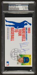 Baseball Collectibles:Others, Nolan Ryan Signed First Day Cover....