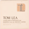 Books:Art & Architecture, Tom Lea. SIGNED. Tom Lea: A Selection of Paintings and Drawings from the Nineteen-Sixties. San Antonio: The Universi...