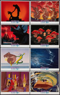 """Movie Posters:Animation, Fantasia (Buena Vista, R-1990). Lobby Card Set of 8 (11"""" X 14"""").Animation.. ... (Total: 8 Items)"""