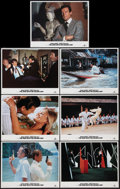 "Movie Posters:James Bond, The Man with the Golden Gun (United Artists, R-1984). Lobby Cards(7) (11"" X 14""). James Bond.. ... (Total: 7 Items)"