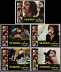 "Movie Posters:Rock and Roll, Let It Be (United Artists, 1970). Lobby Cards (5) (11"" X 14""). Rockand Roll.. ... (Total: 5 Items)"