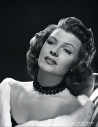 "Rita Hayworth (Columbia, 1940s). Eastman Kodak Safety Negative (7.75"" X 9.75""). Miscellaneous"
