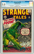 Silver Age (1956-1969):Adventure, Strange Tales #89 (Marvel, 1961) CGC VG/FN 5.0 Off-white to white pages....
