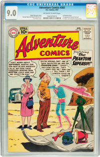 Adventure Comics #283 (DC, 1961) CGC VF/NM 9.0 Off-white to white pages