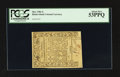 Colonial Notes:Rhode Island, Rhode Island May 1786 3s PCGS About New 53PPQ.. ...