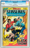 Modern Age (1980-Present):Science Fiction, Starslayer #10 (First Comics, 1983) CGC NM/MT 9.8 White pages....