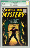 Silver Age (1956-1969):Horror, Journey Into Mystery #40 (Marvel, 1956) CGC Qualified FN/VF 7.0Off-white to white pages....