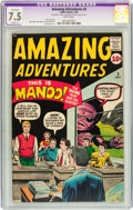 Silver Age (1956-1969):Horror, Amazing Adventures #2 (Marvel, 1961) CGC Apparent VF- 7.5 Slight(P) White pages....