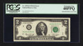 Error Notes:Mismatched Prefix Letters, Fr. 1935-B $2 1976 Federal Reserve Note. PCGS Extremely Fine40PPQ.. ...