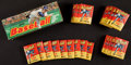 Baseball Cards:Sets, 1975 Topps Mini Baseball Wax Box With 15-Cent Wax Packs (36). ...