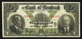 Canadian Currency: , Montreal, QC- Bank of Montreal $5 Jan. 2, 1923 Ch. 505-56-02. ...