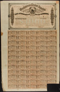 Confederate Notes:Group Lots, Ball 325 Cr. 144B $1000 Bond 1864 Very Fine.. ...