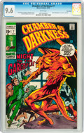 Bronze Age (1970-1979):Horror, Chamber of Darkness #7 Twin Cities pedigree (Marvel, 1970) CGC NM+9.6 White pages....