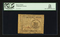Colonial Notes:Continental Congress Issues, Continental Currency May 9, 1776 $1 PCGS Apparent Fine 15.. ...