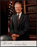 Miscellaneous Collectibles:General, Jimmy Carter Signed Photograph....