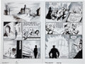 Original Comic Art:Panel Pages, Eric Powell The Goon #17 Page 1 and 18 Original Art (DarkHorse, 2006). ... (Total: 2 Original Art)