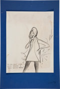 Original Comic Art:Miscellaneous, Eldon Dedini Pencil Preliminary Cartoon Original Art (undated)....