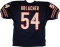Football Collectibles:Uniforms, Brian Urlacher Signed Chicago Bears Jersey....