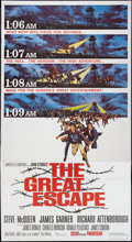 "Movie Posters:War, The Great Escape (United Artists, 1963). Three Sheet (41"" X 81""). War.. ..."