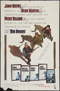 "Movie Posters:Western, Rio Bravo (Warner Brothers, 1959). One Sheet (27"" X 41""). Western.. ..."