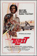"Movie Posters:Blaxploitation, Blast (New World, R-1976). One Sheet (27"" X 41""). Blaxploitation.Re-release title of The Final Comedown (1972).. ..."