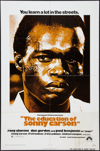 """The Education of Sonny Carson and Other Lot (Paramount, 1974). One Sheets (2) (27"""" X 41""""). Black Films. ... (T..."""