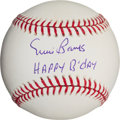 "Autographs:Baseballs, Ernie Banks ""Happy Birthday"" Single Signed Baseball. ..."