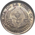 Colombia, Colombia: Republic Real 1838-RS,...
