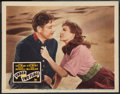 "Movie Posters:Adventure, Under Two Flags (20th Century Fox, R-1943). Lobby Card (11"" X 14"").Adventure.. ..."