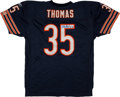 Football Collectibles:Uniforms, Anthony Thomas Signed Chicago Bears Jersey....