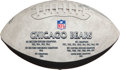 Football Collectibles:Tickets, 1963 NFL Championship Ticket Stub and Misc. Chicago Bears Memorabilia. ...