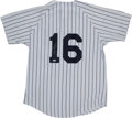 Baseball Collectibles:Uniforms, Whitey Ford Signed New York Yankees Jersey. ...