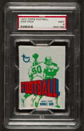 Football Cards:Singles (1970-Now), 1972 Topps Football Unopened Wax Pack PSA Mint 9. ...