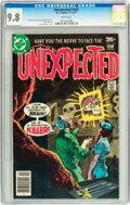Bronze Age (1970-1979):Horror, Unexpected #182 (DC, 1977) CGC NM/MT 9.8 White pages....