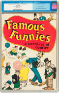 Platinum Age (1897-1937):Miscellaneous, Famous Funnies: A Carnival of Comics #nn (Eastern Color, 1933) CGCFN- 5.5 Cream pages....