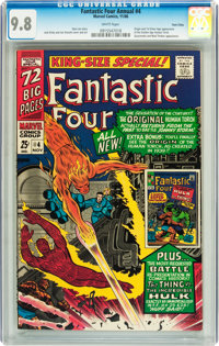 Fantastic Four Annual #4 Twin Cities pedigree (Marvel, 1966) CGC NM/MT 9.8 White pages