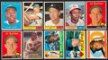 Baseball Cards:Lots, 1957 - 1962 Topps Baseball Collection (343) With '58 YellowVariations....
