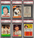 Baseball Cards:Lots, 1961 - 1969 Topps Mickey Mantle PSA-Graded Group (6). ...