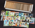 Baseball Cards:Lots, 1960's-1980's Topps Baseball Collection (781) With Stars and HoFers! ...
