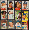 Baseball Cards:Lots, 1952-1956 Topps Baseball Collection (95) With Stars and HoFers! ...