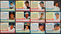 Baseball Cards:Sets, 1962 Post Cereal Baseball Near Set (151) Plus Clemente-Blue Variation. ...