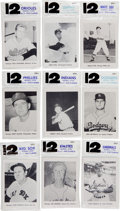 Baseball Cards:Sets, 1961 Jay's Publishing Team Pictures Packs Unopened Bags (9). ...