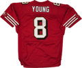 Football Collectibles:Uniforms, Steve Young Signed San Francisco 49ers Jersey....