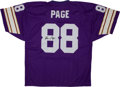 Football Collectibles:Uniforms, Alan Page Signed Minnesota Vikings Jersey....