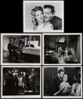 """Movie Posters:Horror, Horror Lot (Universal, 1930s-1944). Portrait Photo (1) and Scene Photos (4) (8"""" X 10""""). Horror.. ... (Total: 5 Items)"""