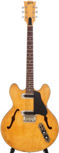 Musical Instruments:Electric Guitars, 1972 Gibson ES-320 Blonde Semi-Hollow Body Electric Guitar, Serial# 369588....