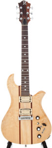 Musical Instruments:Electric Guitars, 1978 BC Rich Eagle Natural Electric Guitar, Serial # 78898....