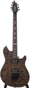 Musical Instruments:Electric Guitars, 2000s Peavey EVH Wolfgang Special Wine Flame Electric Guitar, Serial # 91028547....