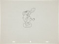 animation art:Production Drawing, Popeye Production Drawing Animation Art (undated)....